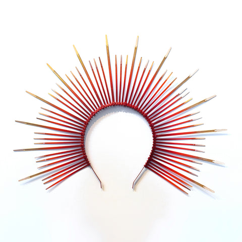 Phoenix Mary Halo Crown Headpiece