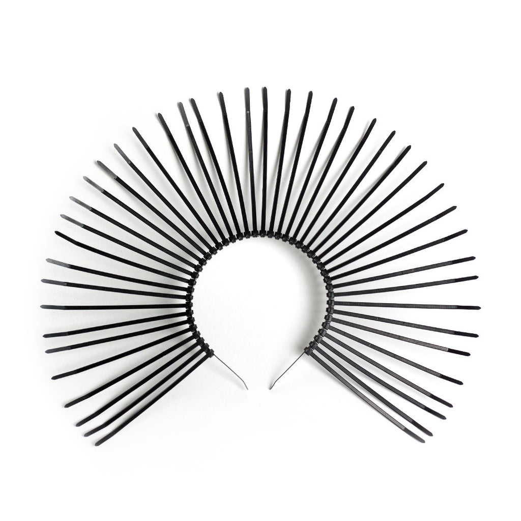 Metropolis Halo Crown Spiked Sunburst Headband