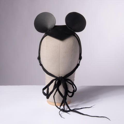 Mouse Ears Harness Fascinator