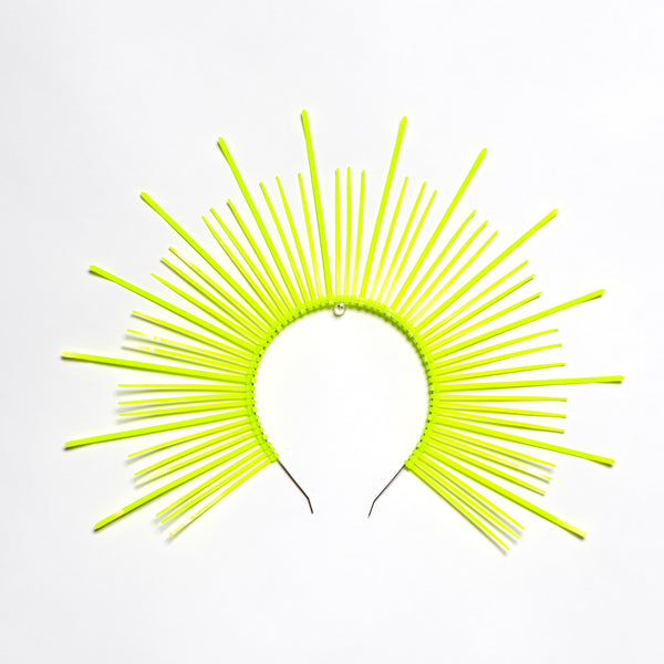 Neon Mary Halo Crown Headpiece