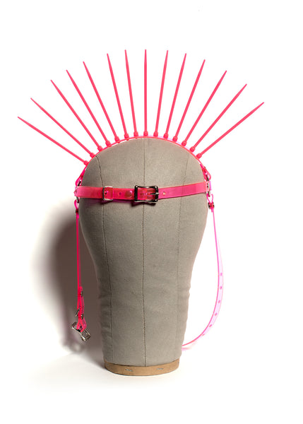 Neon Metropolis Harness Headpiece