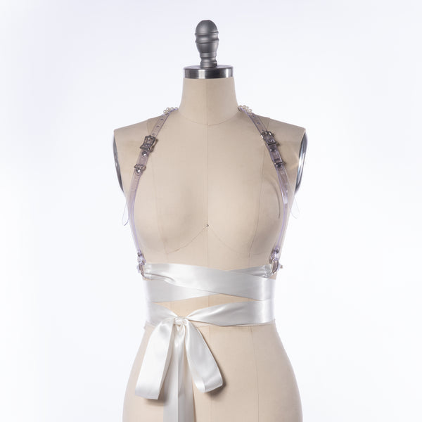 Rita Pearl Ribbon Harness