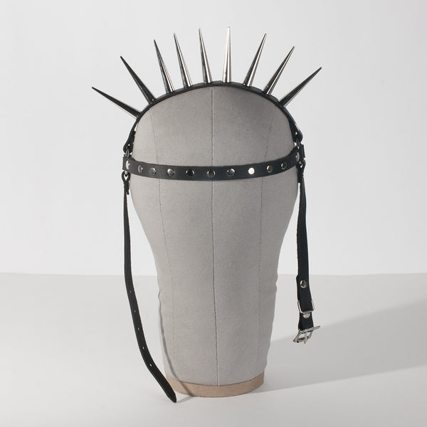 Studded Lucrezia Spiked Harness Headpiece