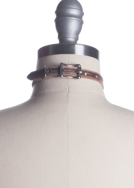 Horne Woodgrain O-Ring Choker Collar