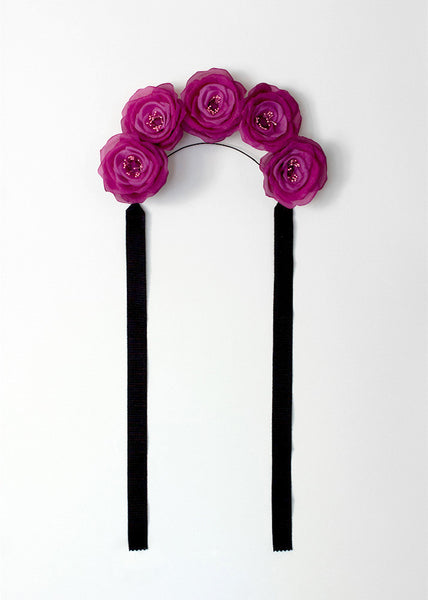 FRIDA ROSE FLOWER CROWN - APATICO - 3