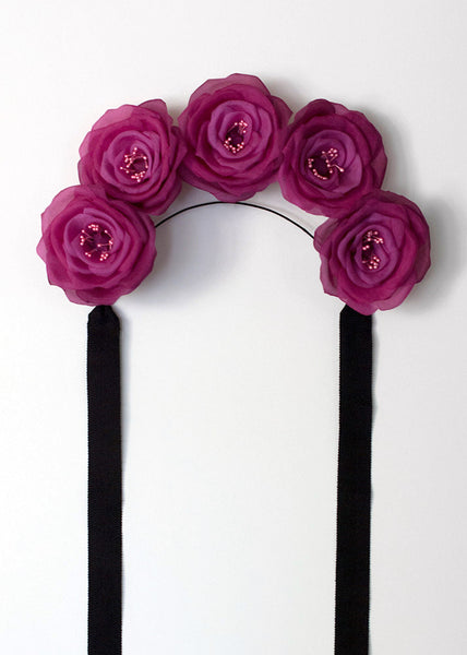 FRIDA ROSE FLOWER CROWN - APATICO - 2