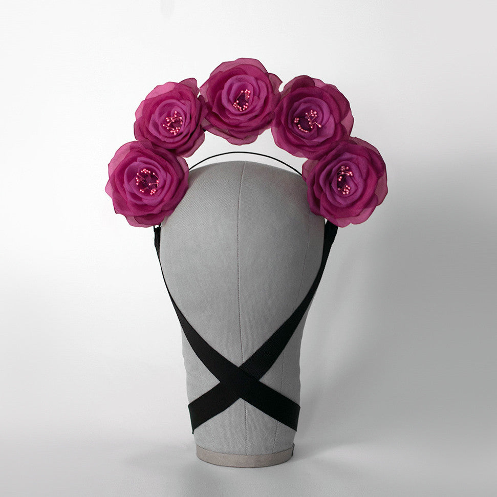 FRIDA ROSE FLOWER CROWN - APATICO - 1