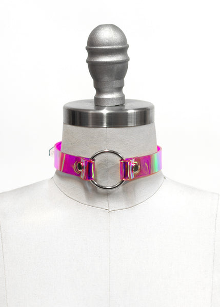 HOLOGRAPHIC OH MY CHOKER COLLAR - APATICO - 3