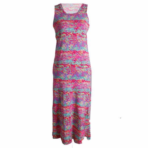 MISC Colorful Casual Long Dress Size [S]