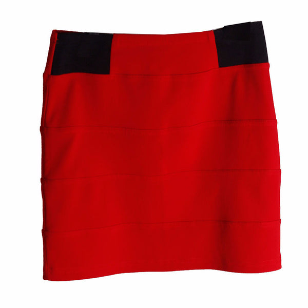 Atmosphere Red Short Skirt Size [UK 18- PT46] - VOWS Malaysia