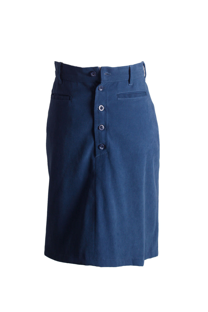 MISC Dark Blue Short Skirt Size [S] - VOWS Malaysia