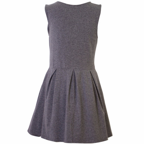 H&M Grey Skull Print Skater Dress - Size [M] - VOWS Malaysia