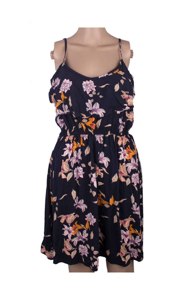Cotton On Black Summer Dress [Size L] - VOWS Malaysia