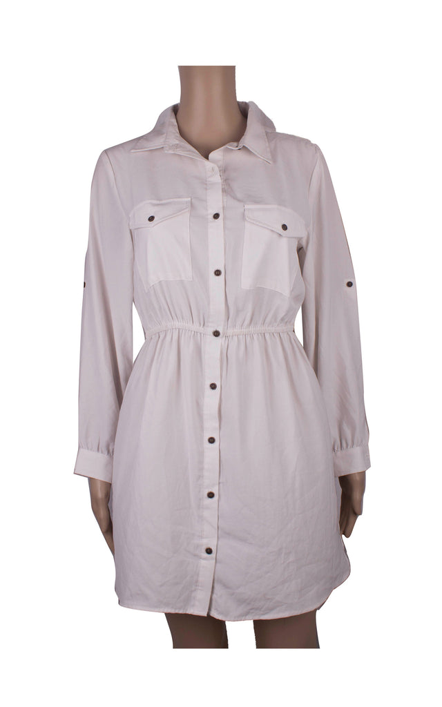 Cotton On White Shirt Dress [Size XS] - VOWS Malaysia