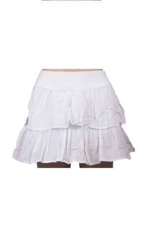 Cotton On White Mini Skirt [Size US 8] - VOWS Malaysia