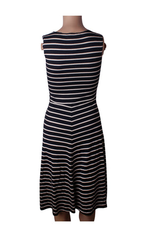 Dorothy Perkins Striped Cotton Dress [Size UK 6] - VOWS Malaysia