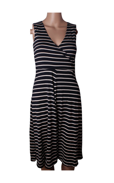 Dorothy Perkins Striped Cotton Dress [Size UK 6]