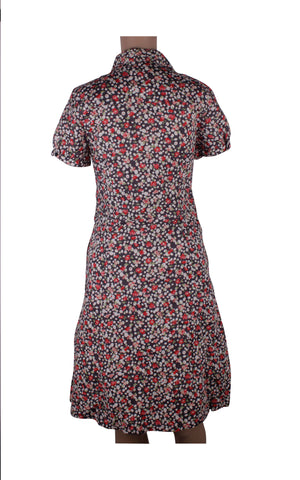 Hush Puppies Floral Shirt Dress [Size M] - VOWS Malaysia