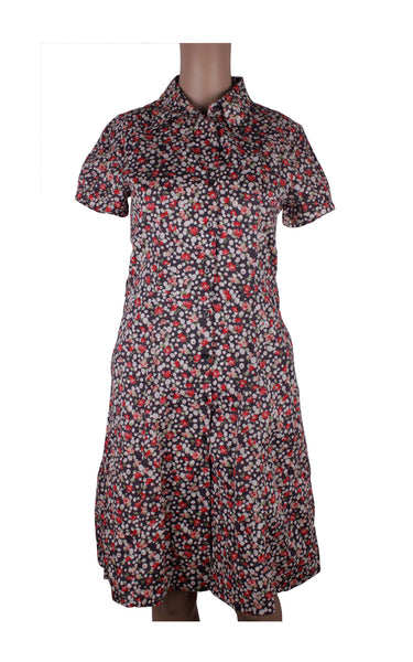 Hush Puppies Floral Shirt Dress [Size M]