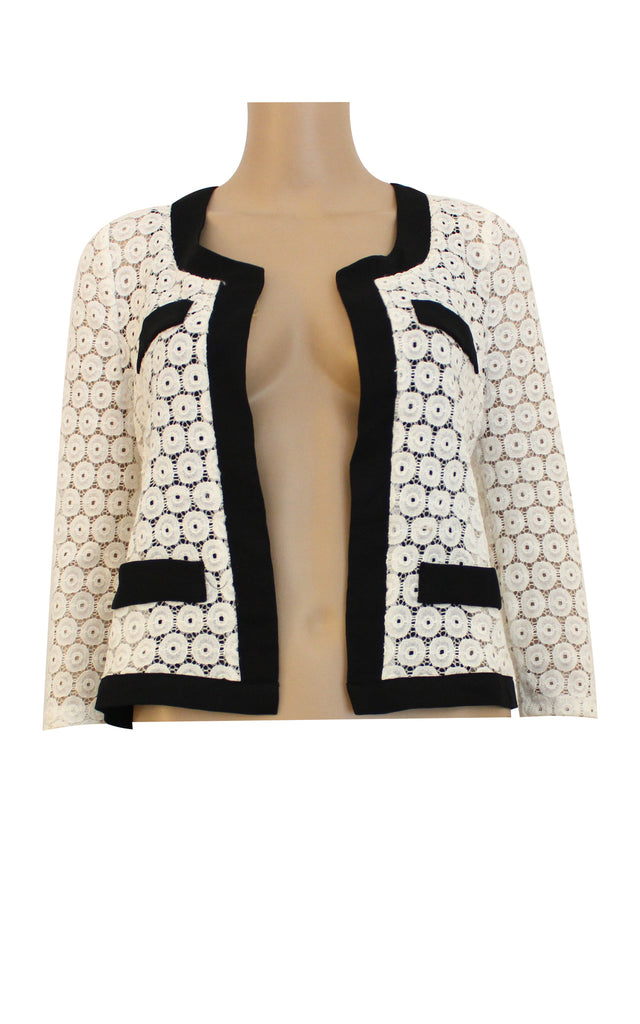 Laced Structured Cardigan [Size S]