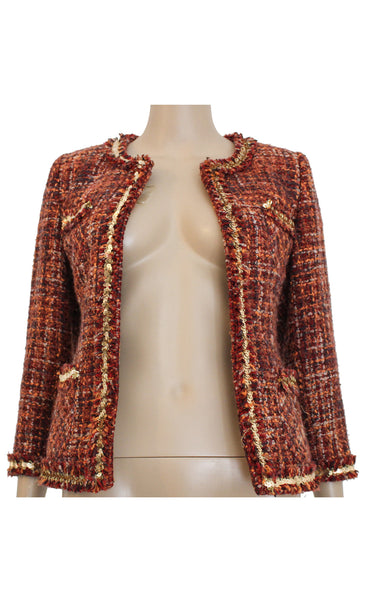 Red Tweed Jacket [Size M]