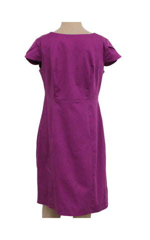 Dorothy Perkins Purple Pencil Dress [UK 14 / EUR 42] - VOWS Malaysia
