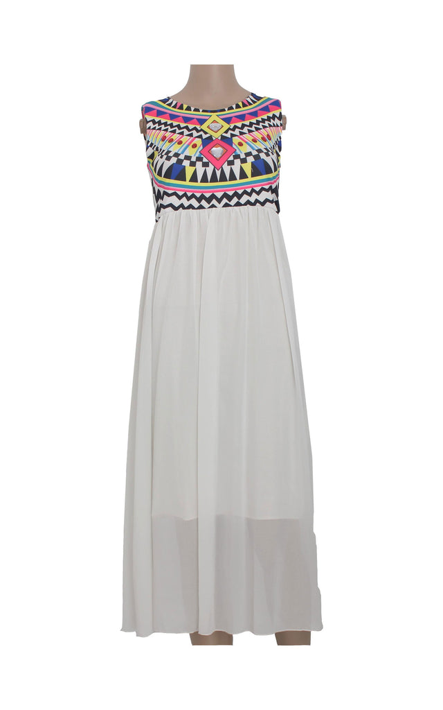 Maxi Dress with Bedazzled Details [Size L] - VOWS Malaysia