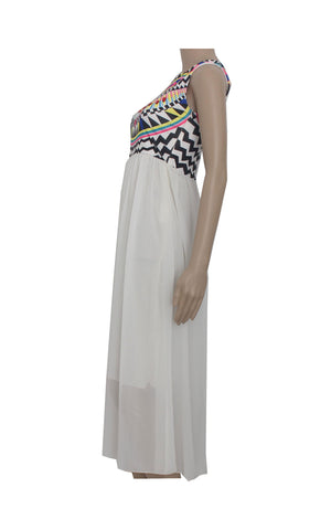 Maxi Dress with Bedazzled Details [Size L]