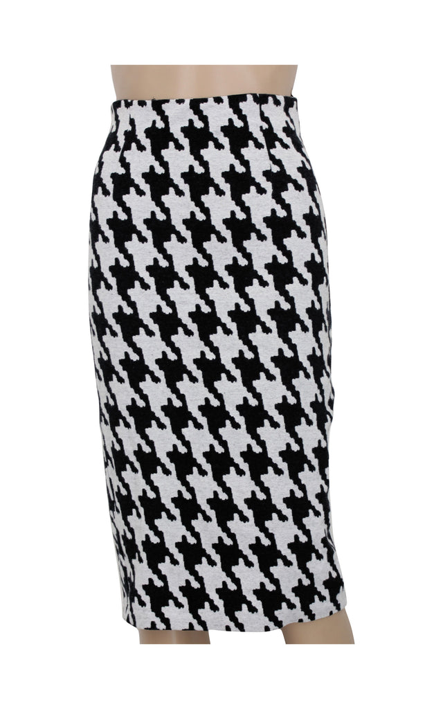 MNG Collection Chequered Midi Skirt [EUR S / USA 4]
