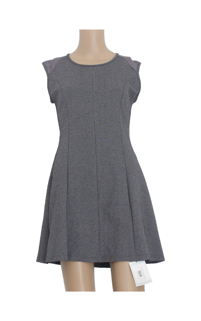 Grey Structured Dress [Size M] - VOWS Malaysia
