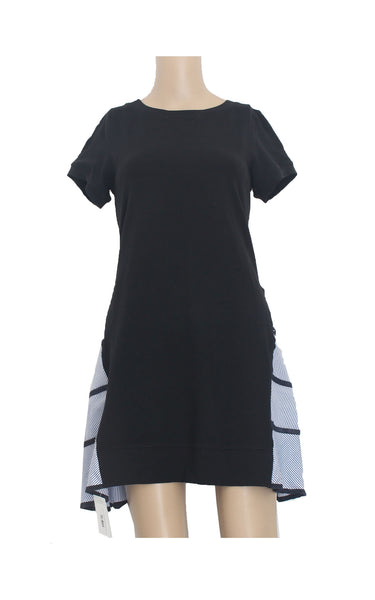 Cotton Dress with Back Layers [Size M]