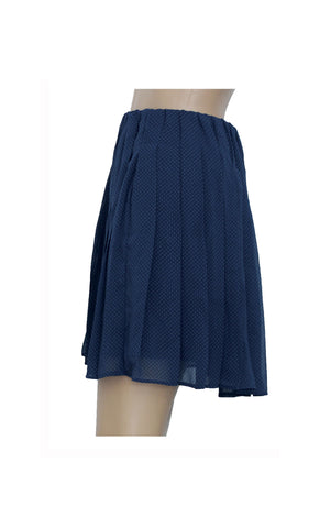 Uniqlo Pleated Polka Dot Skirt  [Size S] - VOWS Malaysia