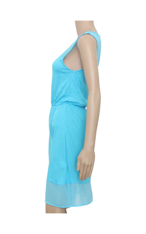 H&M Baby Blue Mini Dress [Size XS] - VOWS Malaysia