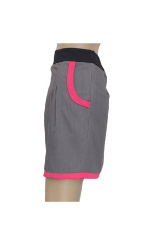 Grey Mini Pencil Skirt [Size S] - VOWS Malaysia