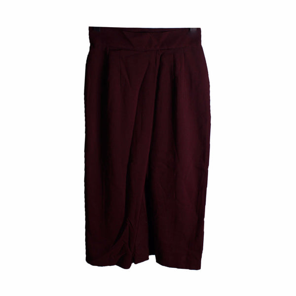 MISC Maroon Midi Pencil Skirt [S]