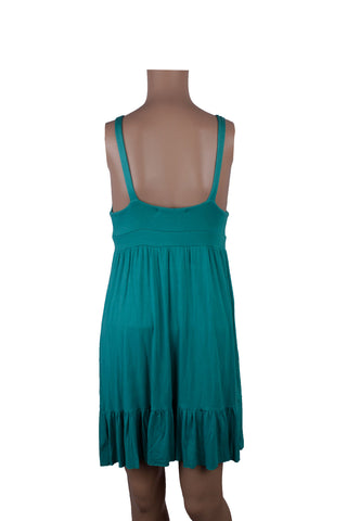 MISC Turquoise Cotton Summer Dress [S] - VOWS Malaysia