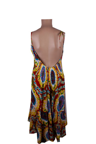 MISC Colourful Abstract Summer Dress [S/M]