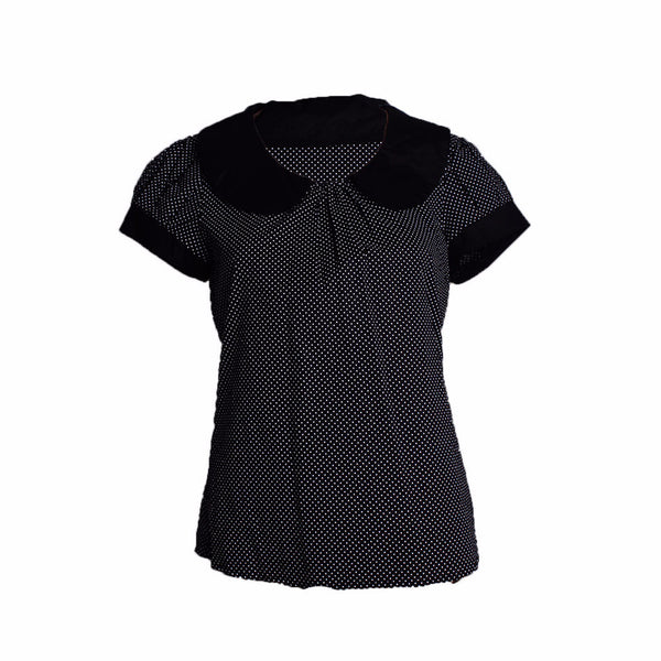 MISC Polka Dot Short Sleeved Shirt [M] - VOWS Malaysia