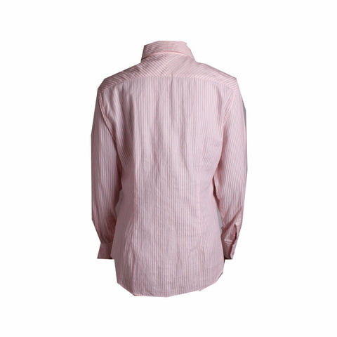 Raoul Pink Striped Shirt [Size 42]