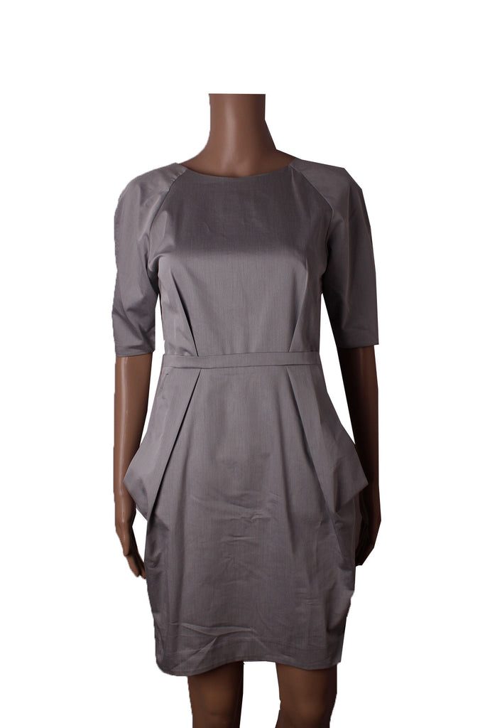 MISC Grey Formal Dress with Back Zip [S]