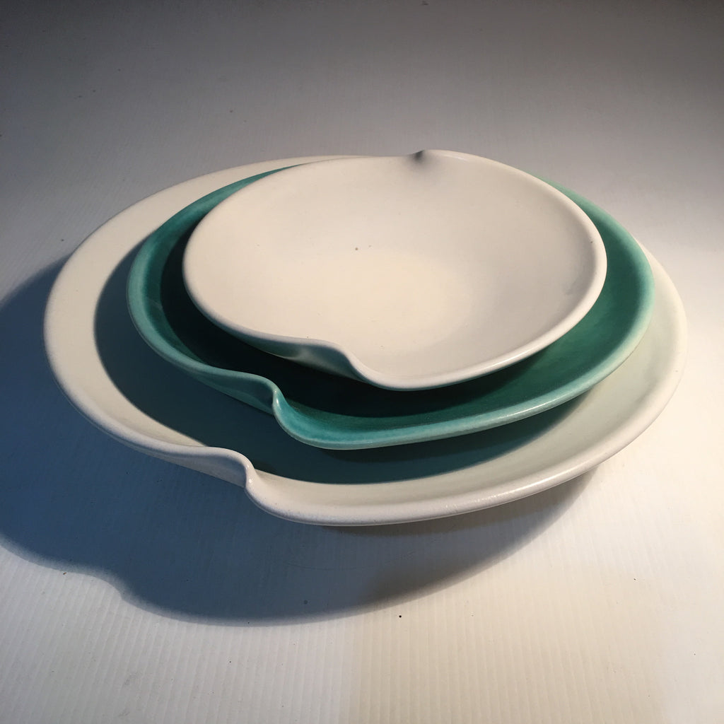 Wave dishes set of 3