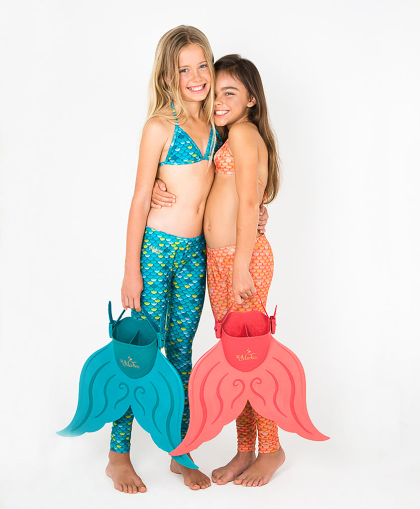 SWIMWEAR SET - FOR LIL & JUNIOR MERMAIDS