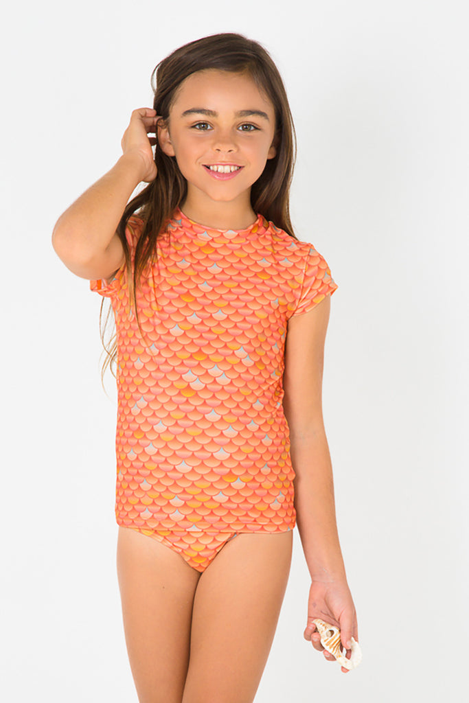 SWIM SHIRT - FOR JUNIOR MERMAIDS