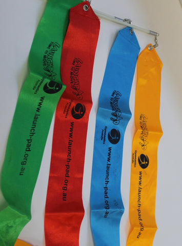 Gymnastics Australia Ribbons (Set of 10)