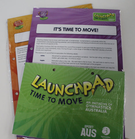 LaunchPad GymFun & GymSkills Lesson Plans