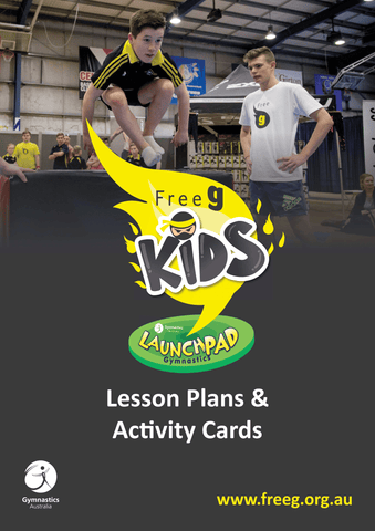 FreeG Kids Lesson Plans and Activity Cards
