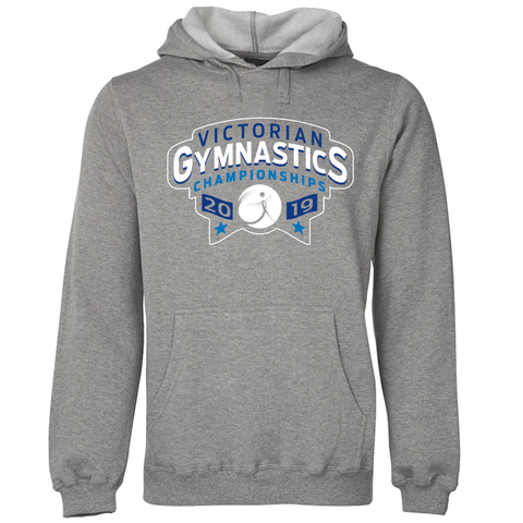2019 GYM VIC Hoodie Grey (Adults/Kids)