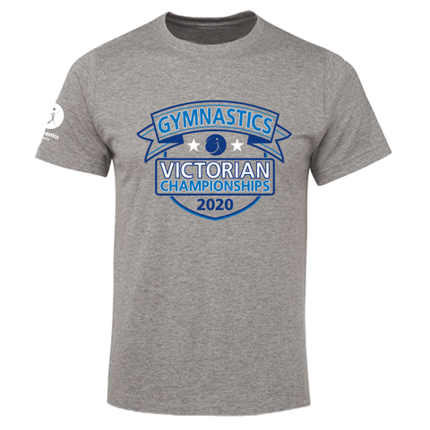 2020 GYM VIC Tee Grey (Mens/Kids)