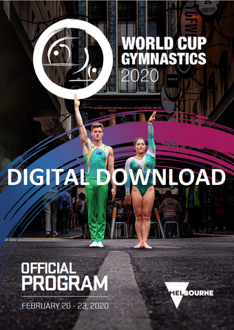WORLD CUP EVENT PROGRAM [Digital Download]