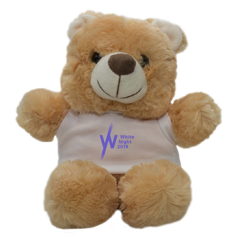 White Night Plush Bear